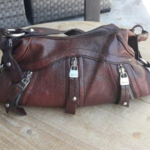 B Maxowsky Leather Purse